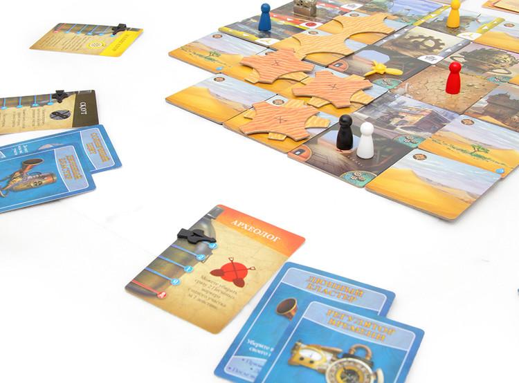 Настольная игра Запретная пустыня для семьи