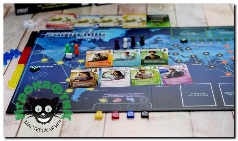 Настольная игра Пандемия (Pandemic)